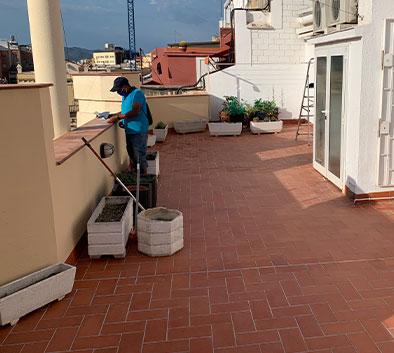 rehabilitación de terrazas en barcelona