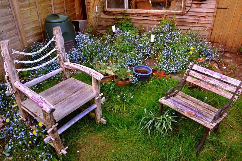 como aprovechar un jardin